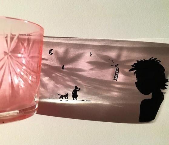 Artista transforma sombras de objetos em ilustrações incríveis