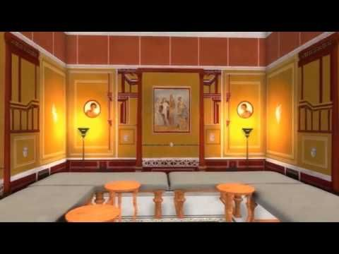 Video Tour Of The 3d Recreation Of The House Of Caecilius Iucundus