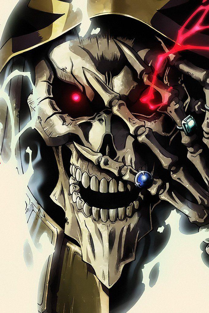 Overlord III Anime Poster Anime, Anime characters, Anime