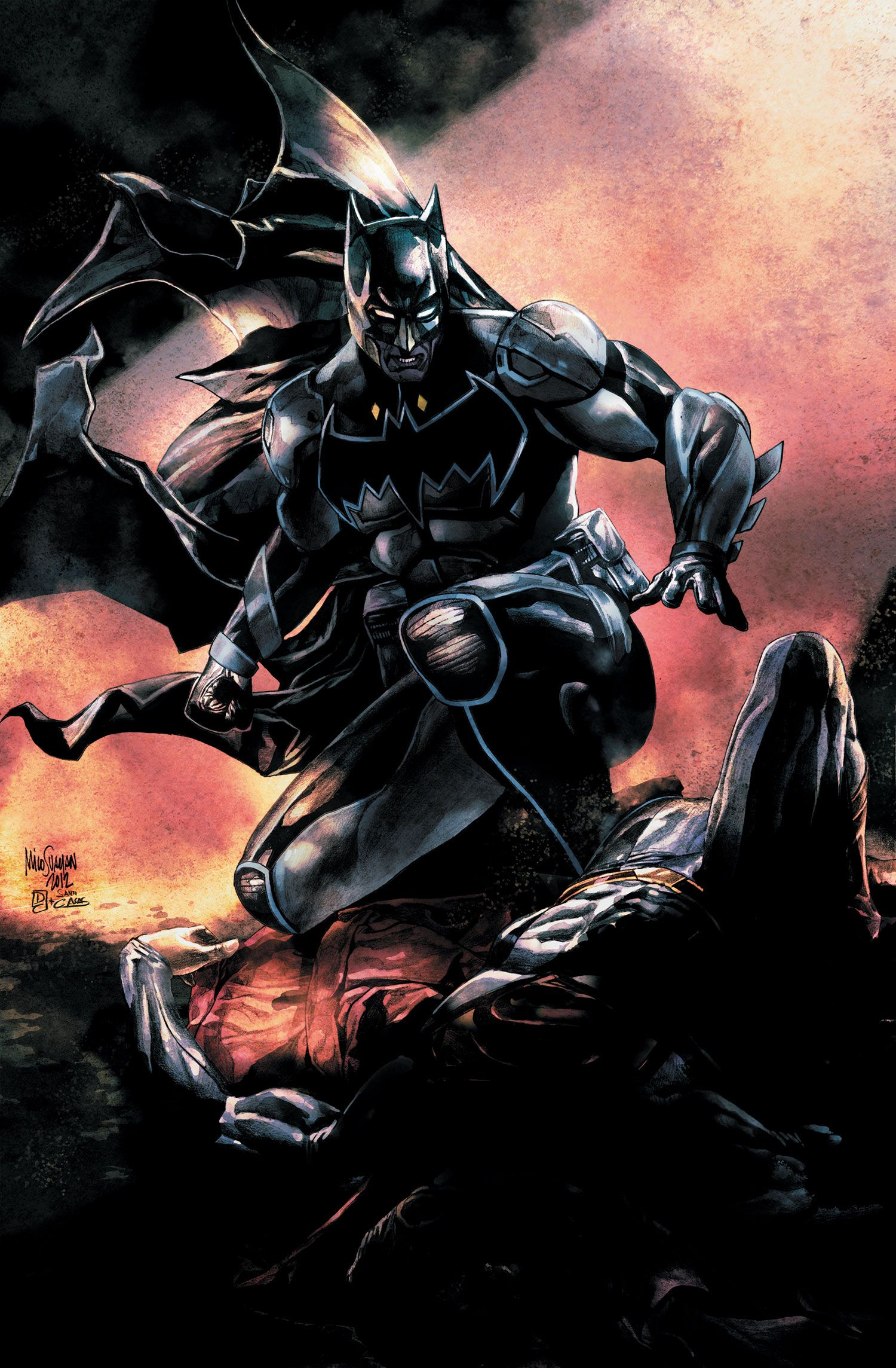 Batman Comic Bryan Q Miller Talks Batman In Smallville The