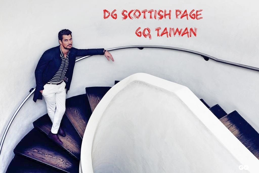 GQ Taiwan photography Mr Chunky Express 2014 . David Gandy Scottish Page Facebook