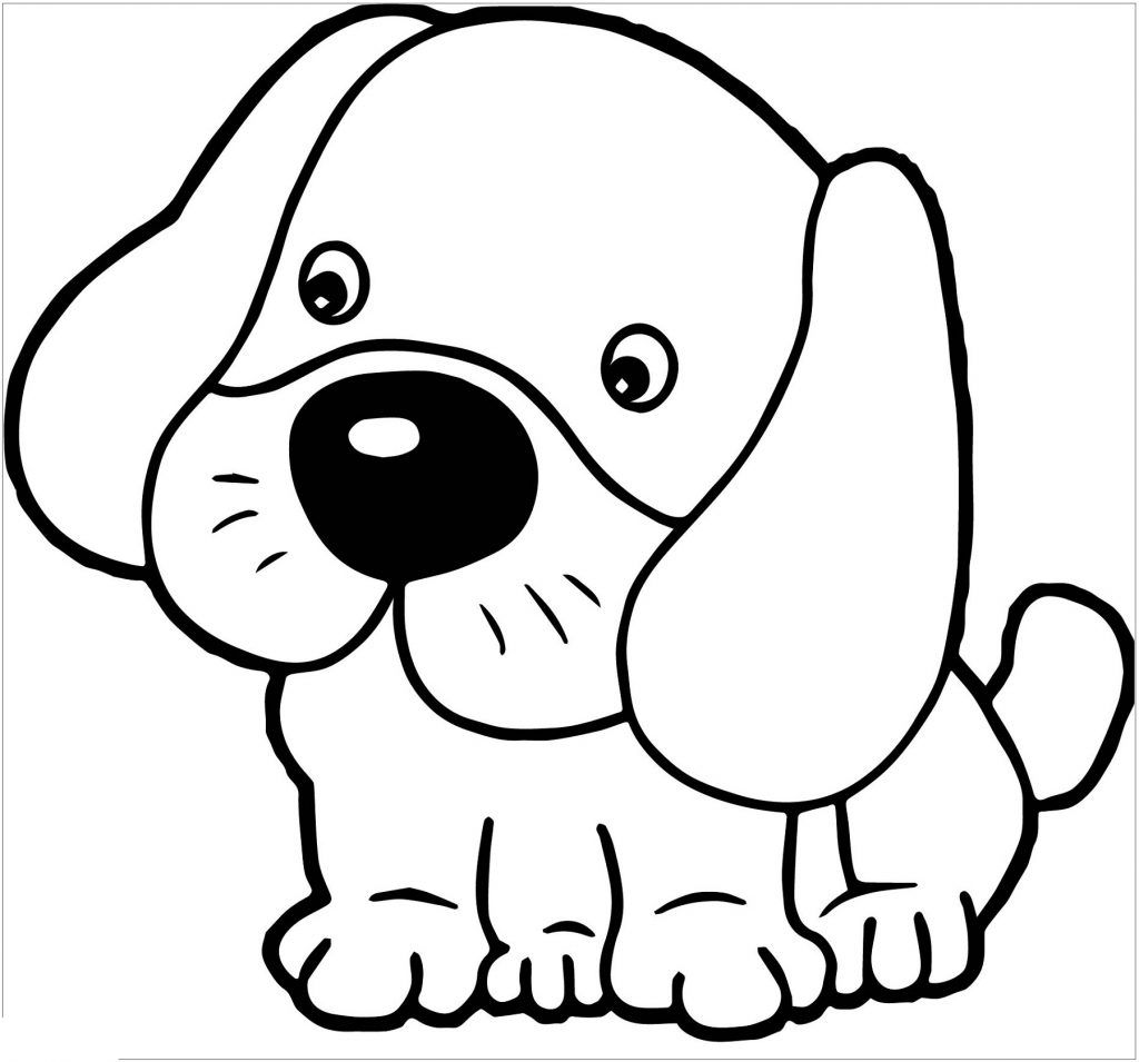 Puppy Coloring Pages Dot To Do