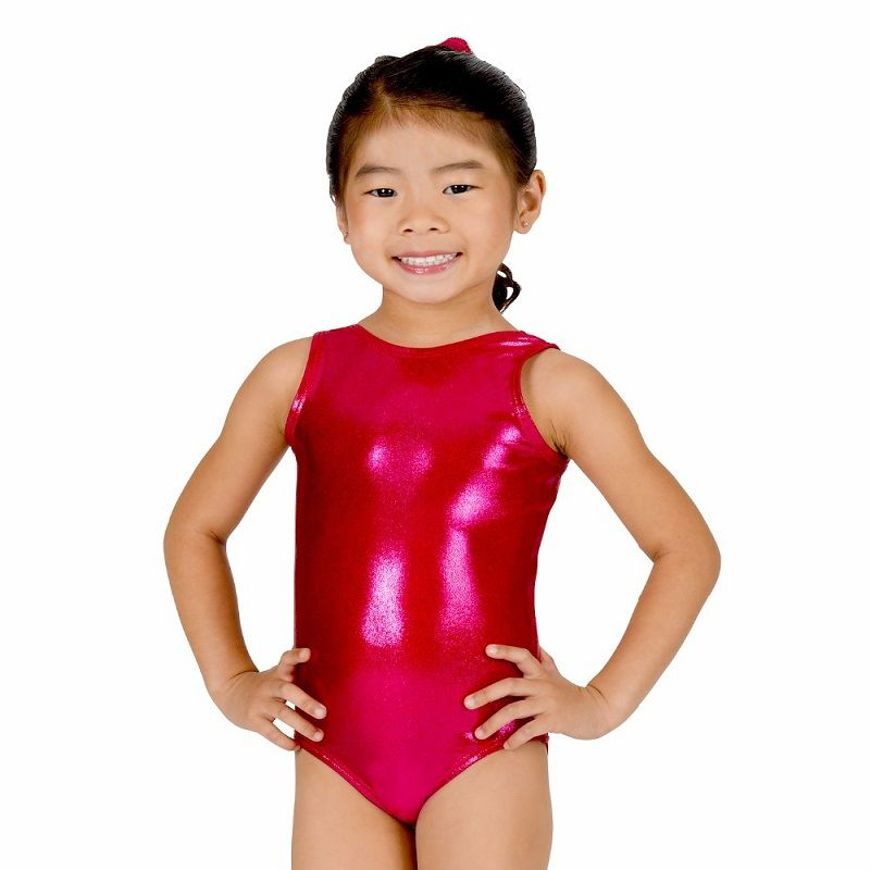 Metallic Kid Girl Sleeveless Leotard Dress Dance Wear for Ballet Gymnastics UK!!