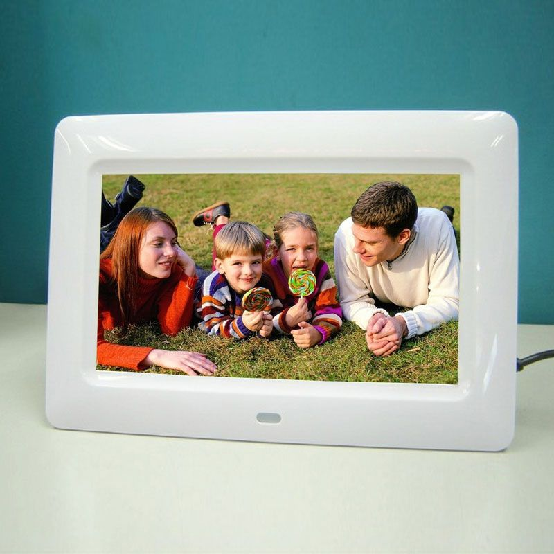 7101121517 Inch Screen Hd Lcd Digital Photo Frame With Remote