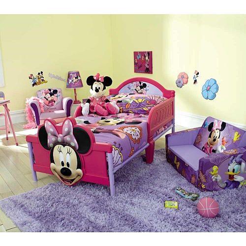 Minnie Mouse 4 Piece Toddler Bedding Set Disney Toys R Us