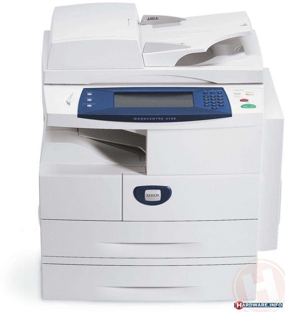 Workcenter Xerox 4150 Copier 2 Kaset Fax Print Extra Drum New