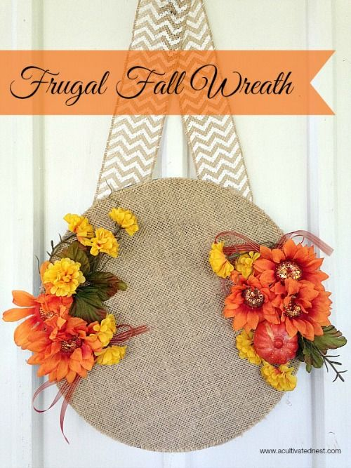 15 DIY Fall Dollar Store Home Decor Projects   Fall crafts ...