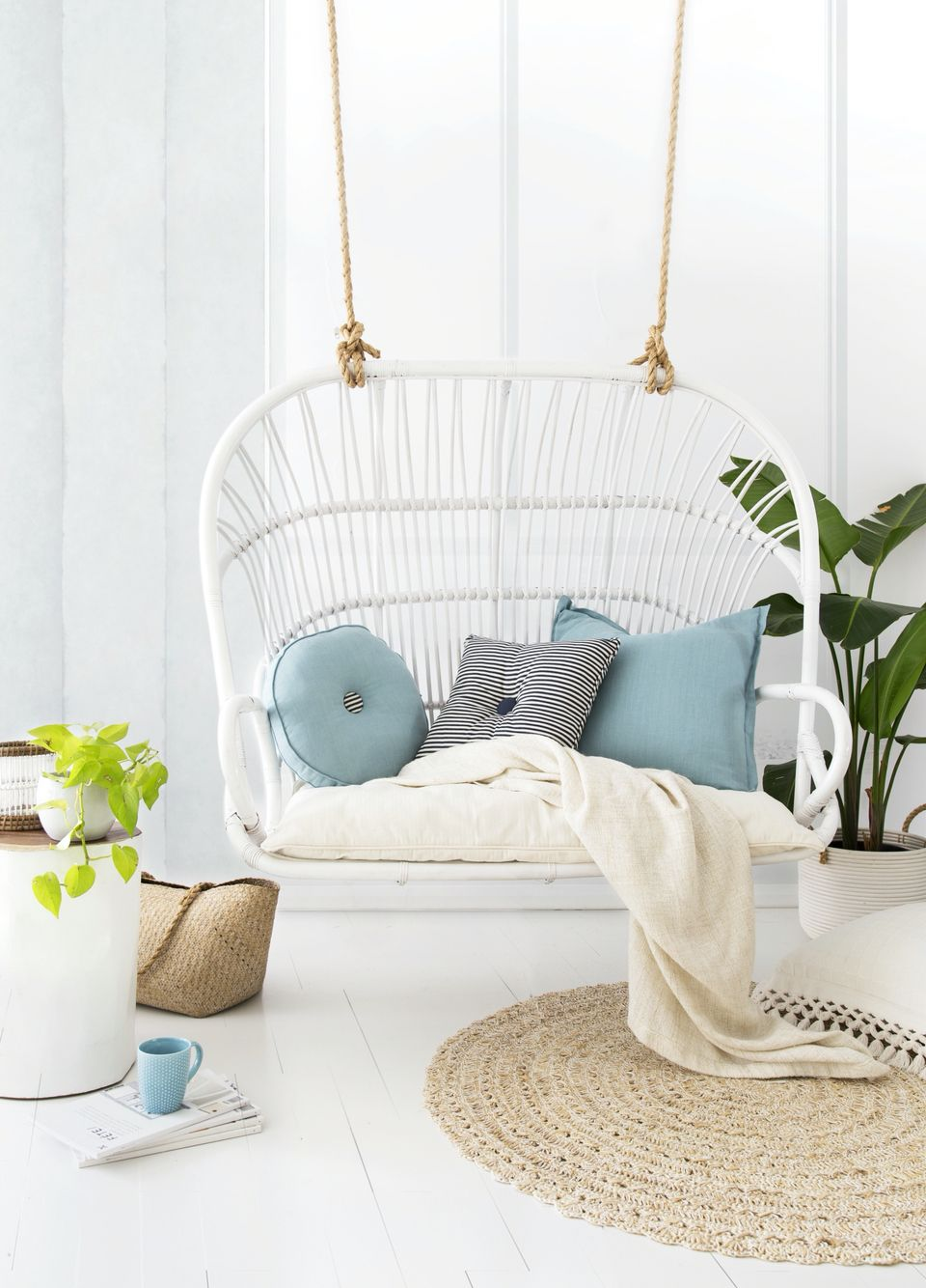 The lucy loveseat by byron bay hanging chairs bedroom pinterest