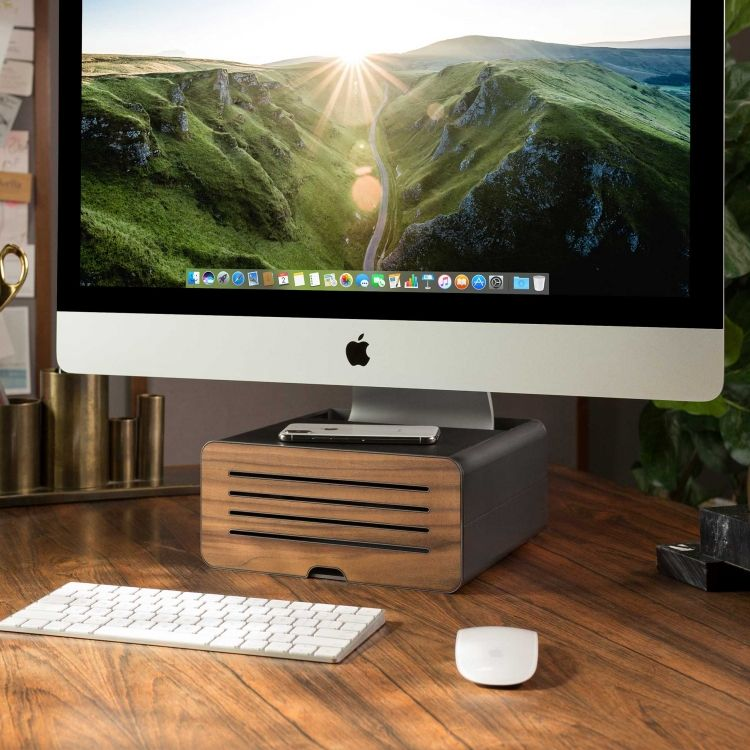 Hirise Pro In 2020 Imac Stand Imac Imac Desk Setup