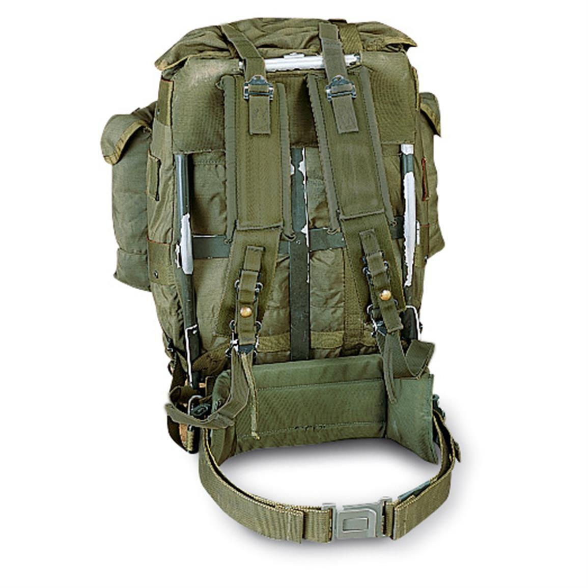 U S Military Surplus Medium Alice Pack With Frame Used 618781 Rucksacks Backpacks At Sportsman S Guide Plecak