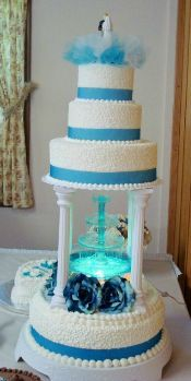 Water Fountain Wedding Cakes 117