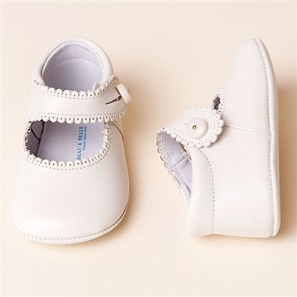 9345125a6dfb9 Ivory Mary Janes Girl Shoes   Christening & Baptism Collection ...