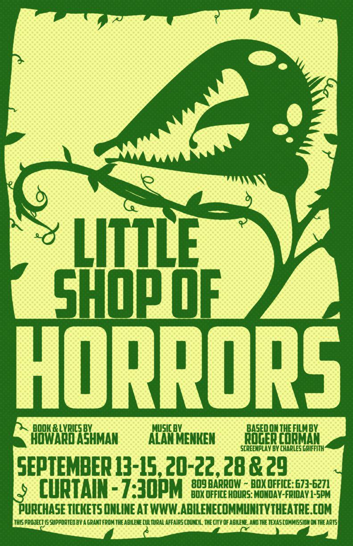 Little Shop of Horrors Abilene Community Theatre