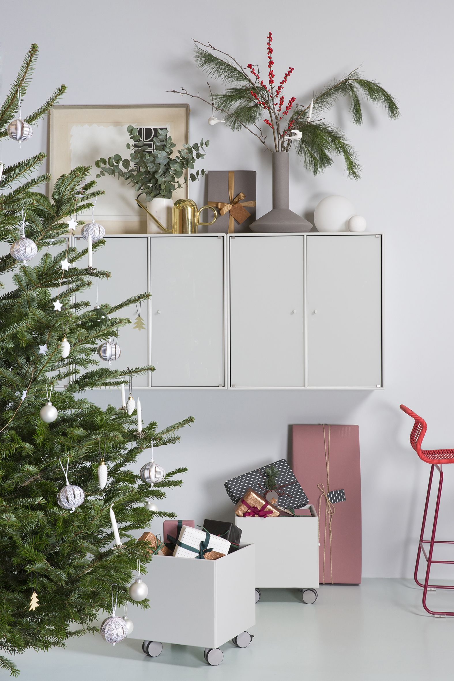 Store Your Presents In A Decorative Way Montana Furniture - Dining room storage cabinets