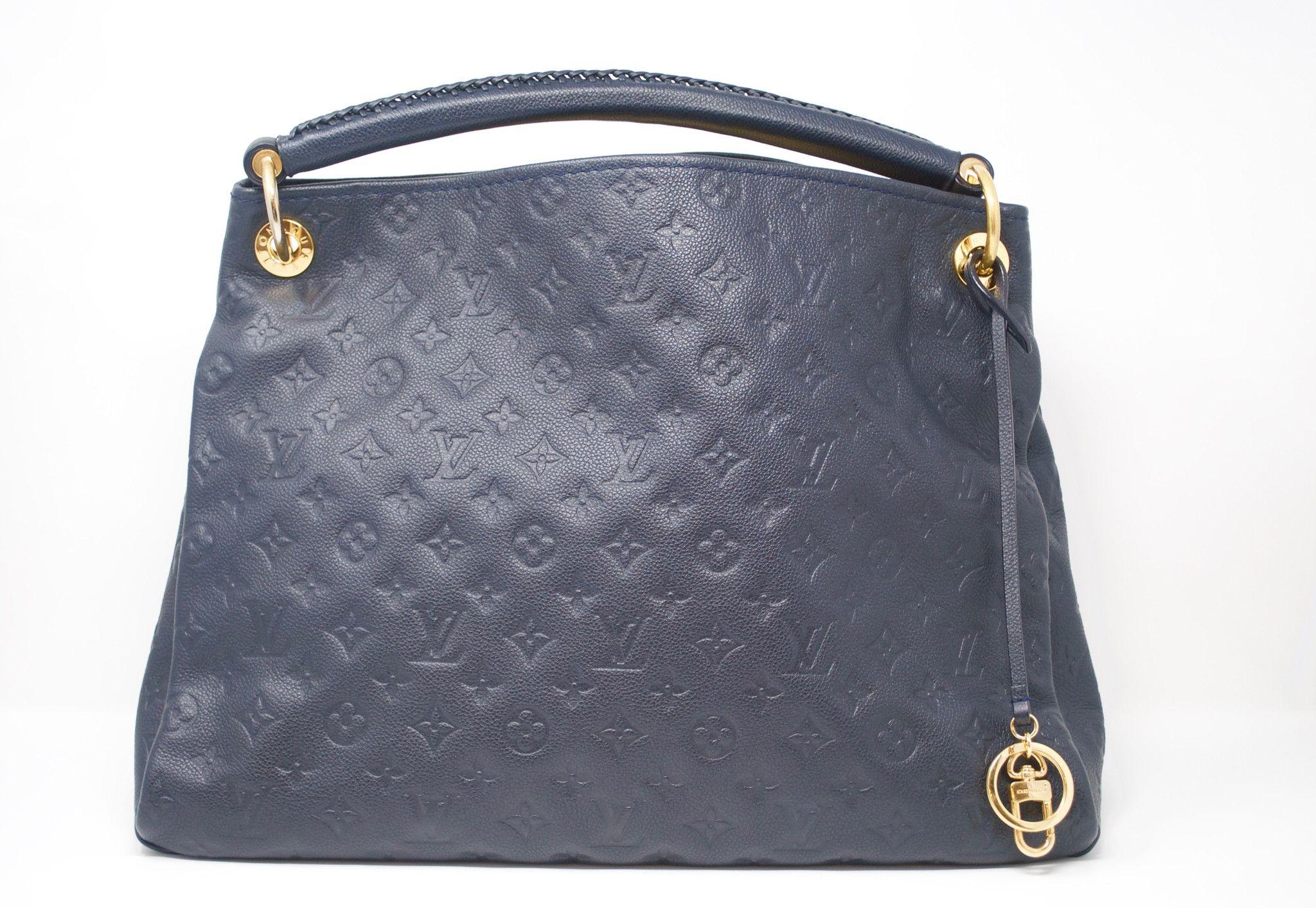Louis Vuitton Empreinte Artsy MM in Bleu Infini - SKU 950
