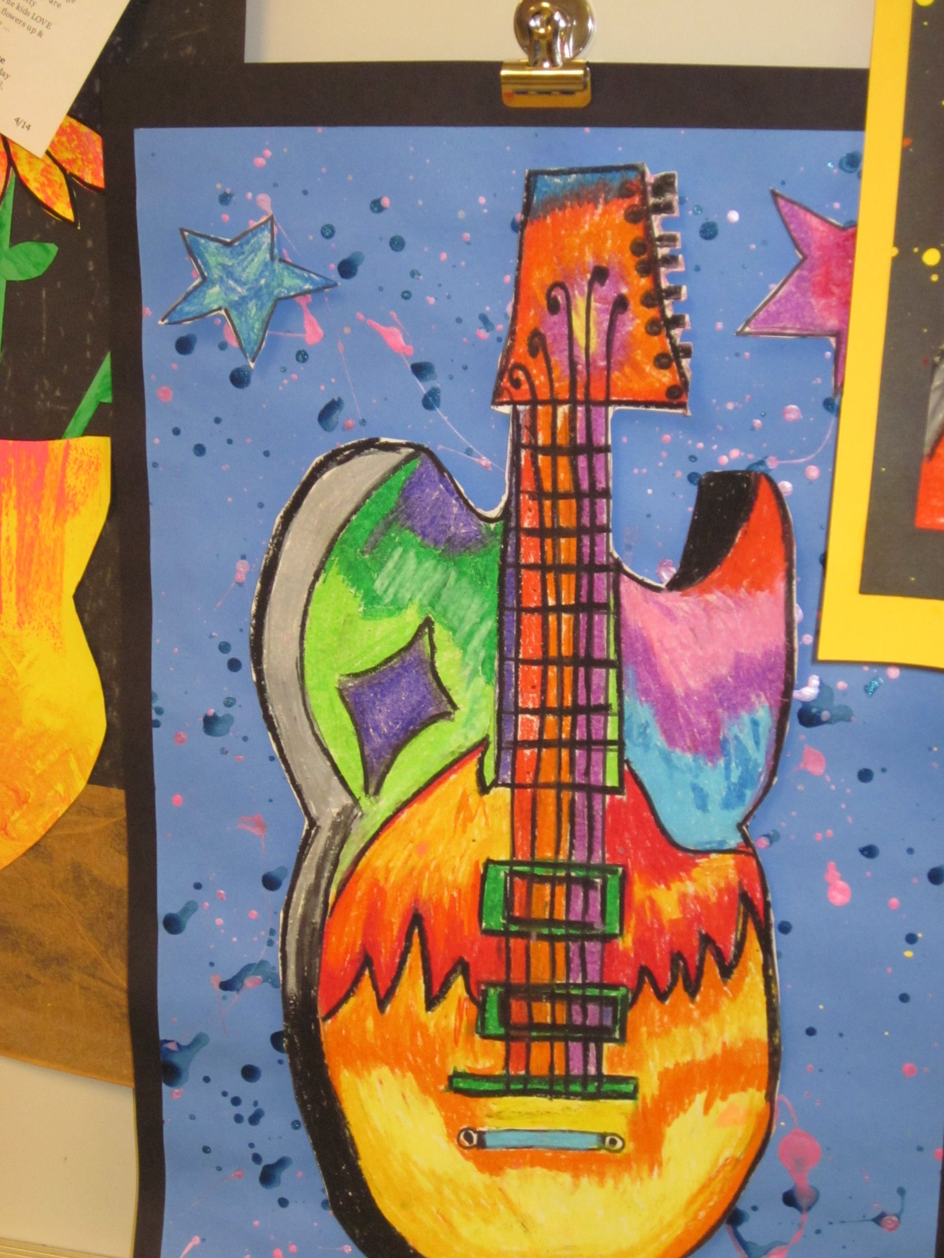 Art Rocks Guitar Lesson 5th Grade