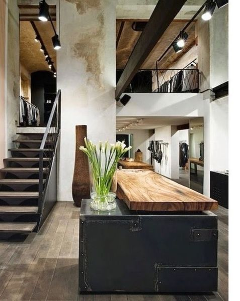 outrageous ideas for your soft industrial decor fancydecors also rustic homes rh pinterest