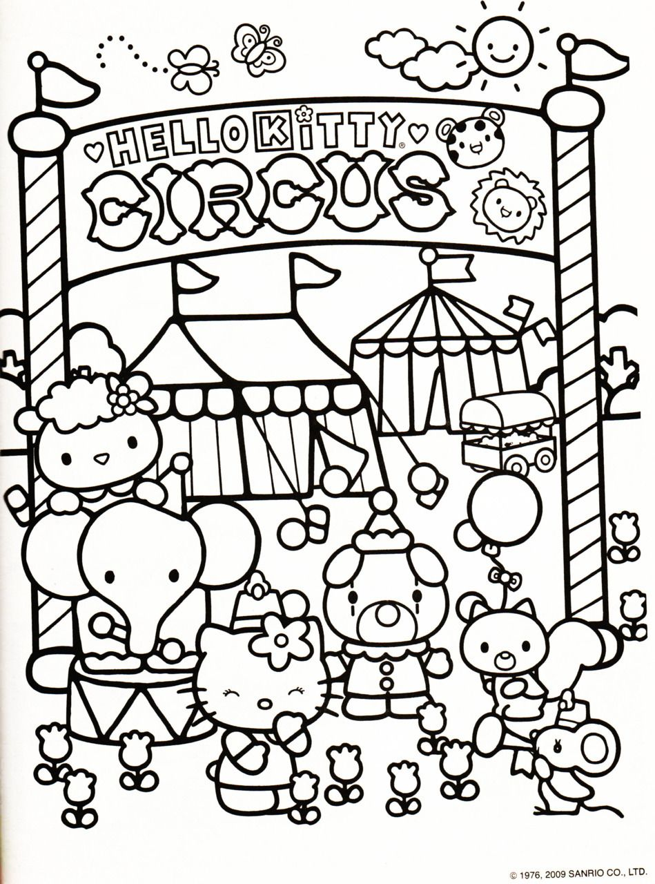 Color Me | Hello kitty coloring, Hello kitty colouring ...