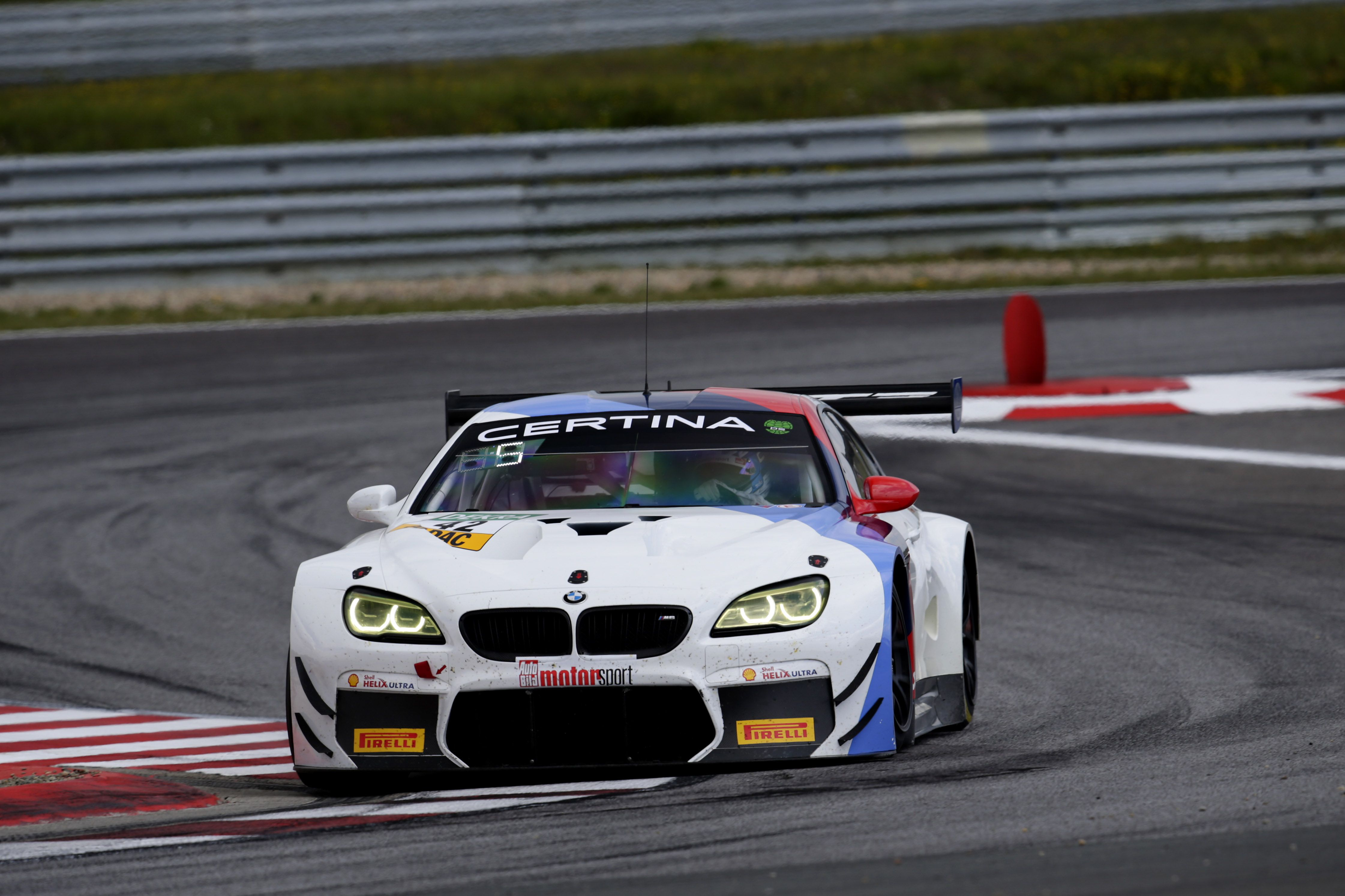 Bmw M6 Gt3 Claims First Victory In 2017 Adac Gt Masters Coches