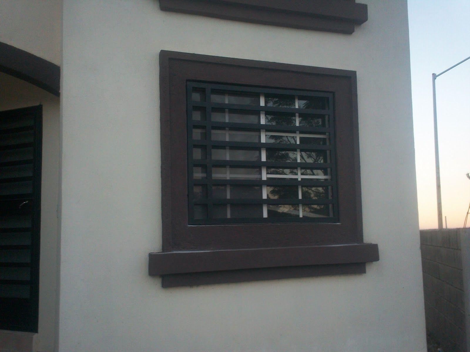 Rejas para ventanas sencillas buscar con google doors for Casas chiquitas y modernas