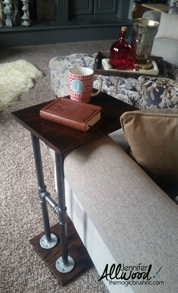 Mr Magic Made Me A Quot C Quot Table Aka An Armchair Table Home