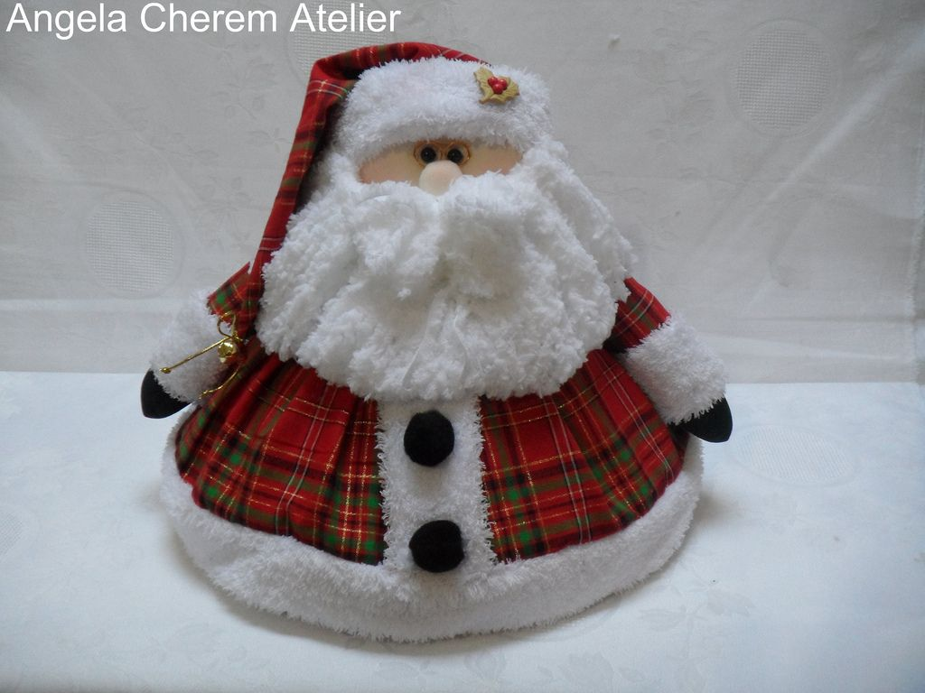 https://flic.kr/p/aLQ39F | Cobre bolo do papai noel | angelacherem@hotmail.com