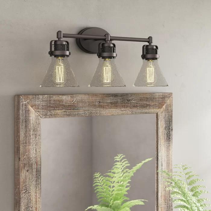 Williston Forge Haefner 3 Light Vanity Light Reviews Wayfair Vanity Lighting Bathroom Vanity Lighting Vanity Light Fixtures