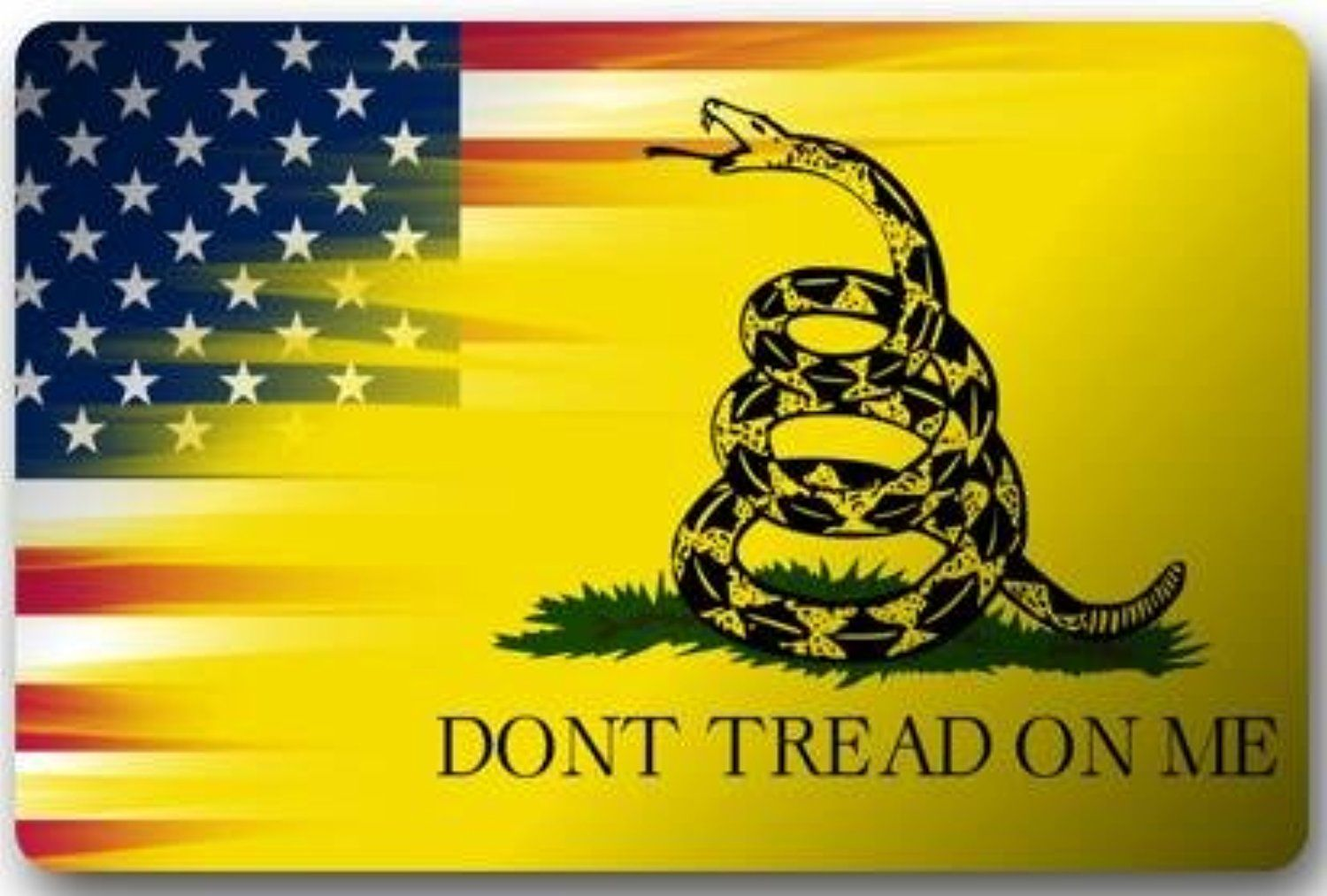 Don't Tread On Me Door Mats Cover NonSlip Machine