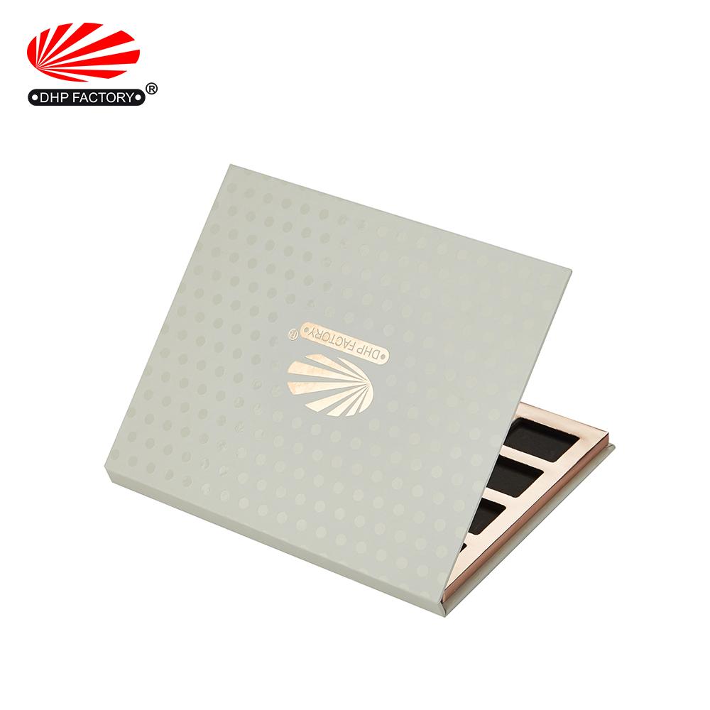 Custom Logo Empty Cardboard Eyeshadow Palette Packaging