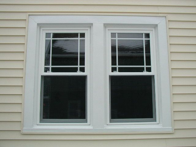Prairie Grid Style Vinyl Replacement Windows