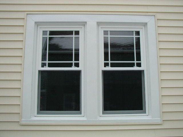 Prairie Grid Style Vinyl Replacement Windows House Windows