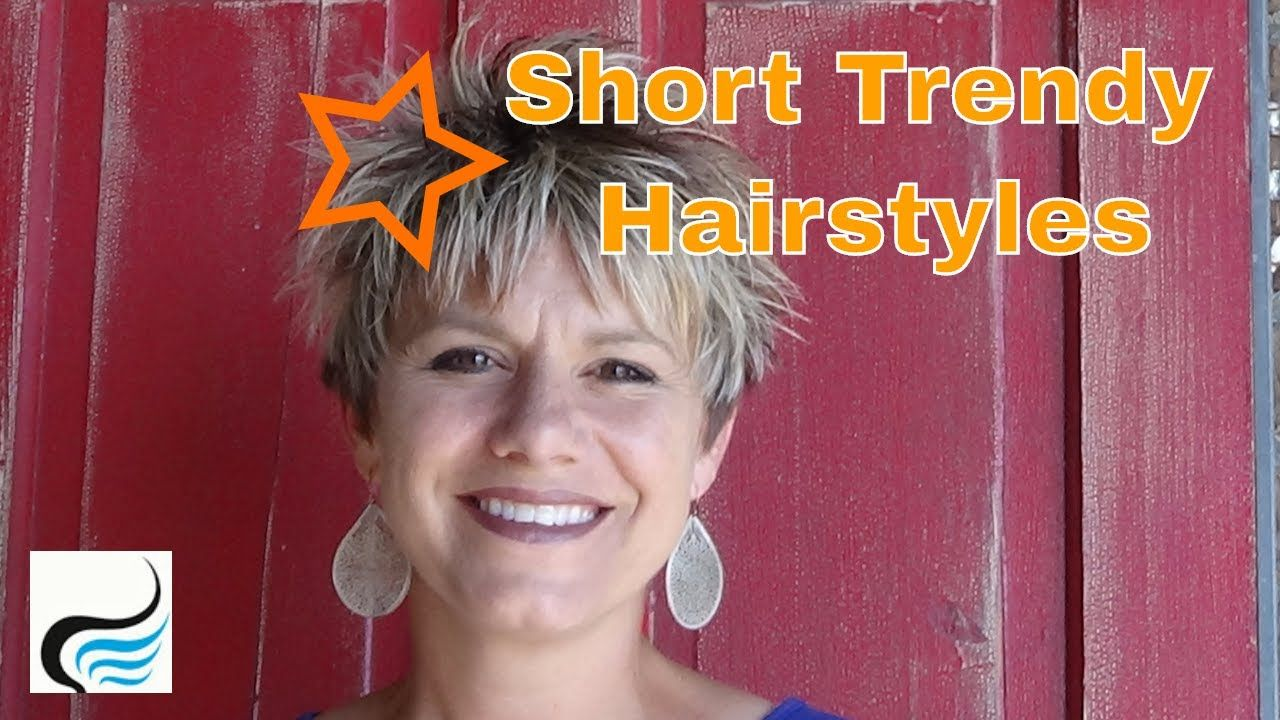Short and trendy hairstyles for women girls hairstyles tutorials