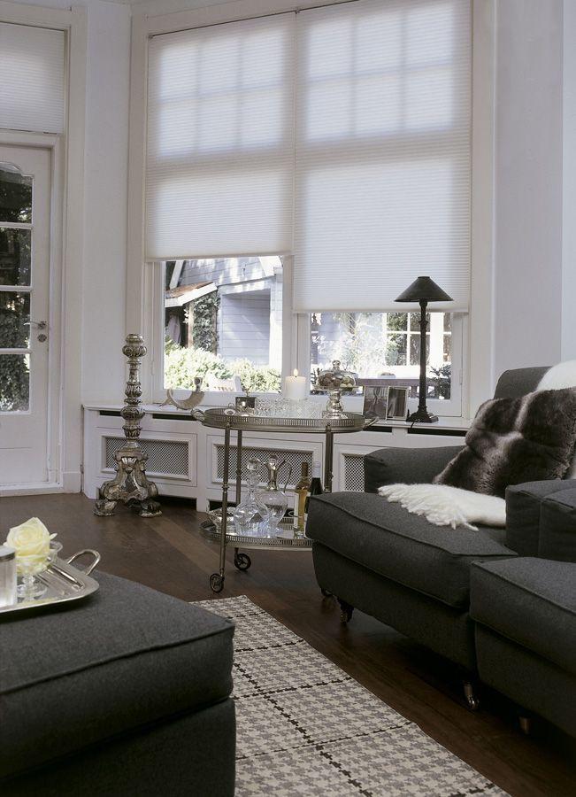 Plisse gordijnen Luxaflex | uitbouw | Pinterest - Gordijnen ...