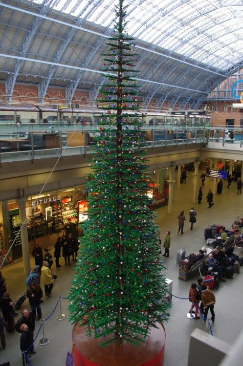 London S Lego Christmas Tree Christmas Lego Weihnachten