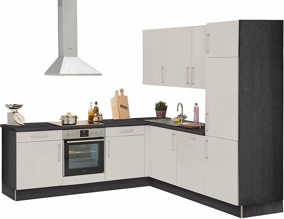 set one by Musterring Winkelküche »Padua« ohne E-Geräte, Breite - küchenzeilen ohne geräte