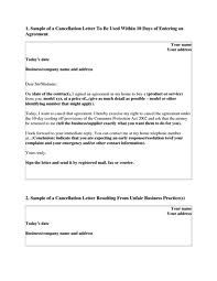 Reservation Cancellation Letter  Reservation Cancellation Letters