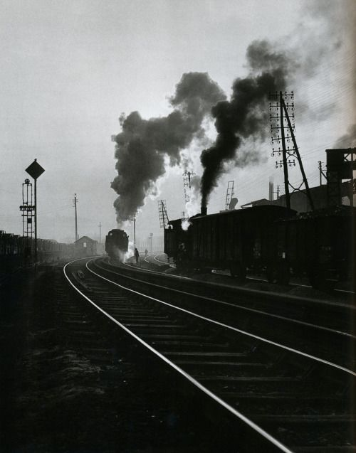 Willy Ronis Gare de l'Est,Paris, 1950 From Willy Ronis [also] Thanks toliquidnight