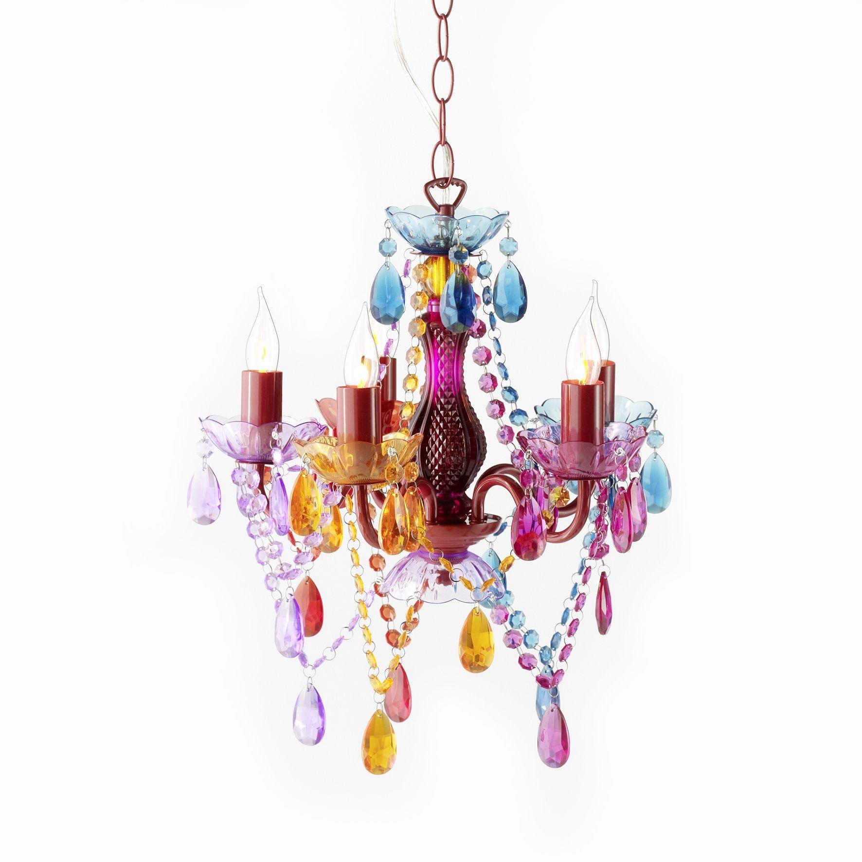 Pendant Starlight Chandelier Barock Rainbow 5 Lights From Avoca