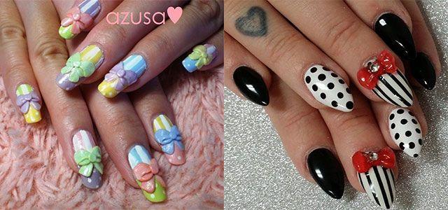12-Stylish-3D-Bows-Nail-Art-Designs-Ideas- - 12-Stylish-3D-Bows-Nail-Art-Designs-Ideas-Trends-Stickers-3d-Nails-F