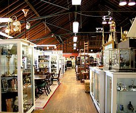 Armory Antique Marketplace, Thames St. Newport RI | Over 70 Dealers | About  Us