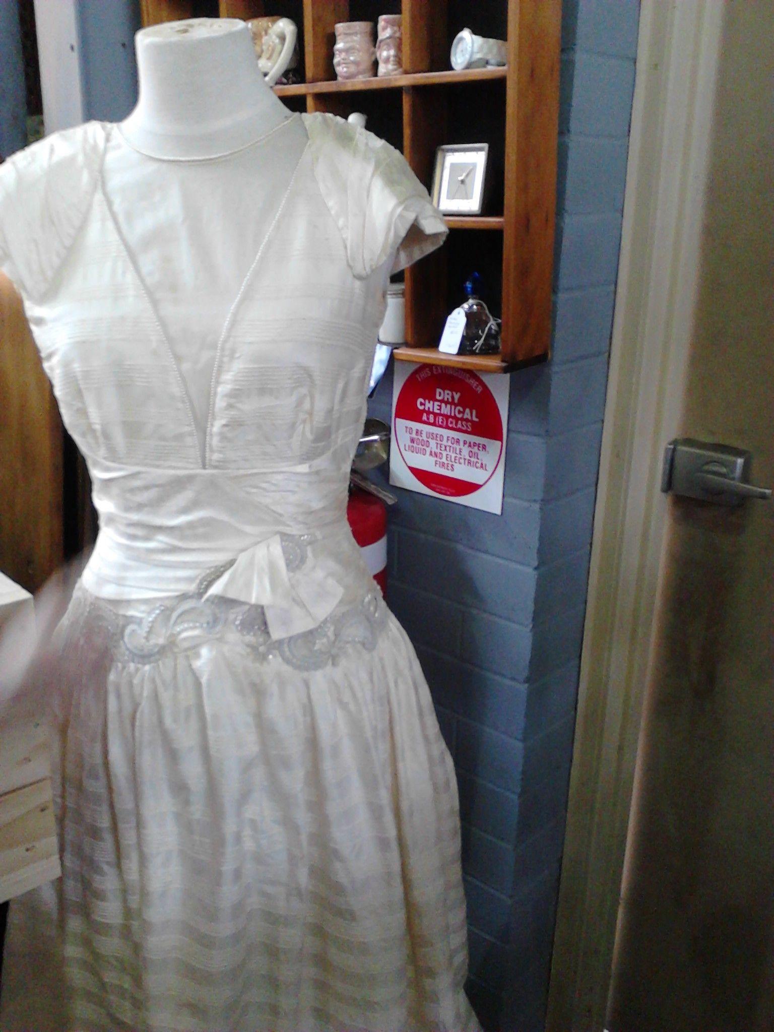 Lovely Antique Wedding Dress