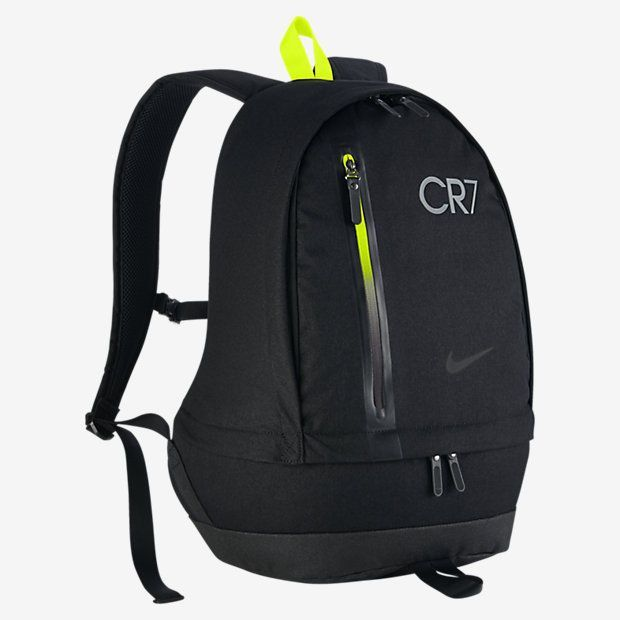 The CR7 Cheyenne Soccer Backpack features a dedicated shoe compartment, a  padded laptop sleeve and multiple zip pockets to help keep your ge 558a85745fc8