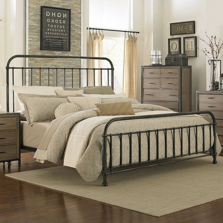50 extraordinary metal bed designs that will fit in any