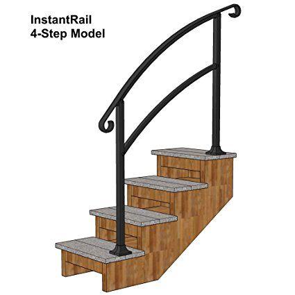 Best Instantrail 4 Step Adjustable Handrail For Concrete Steps 400 x 300