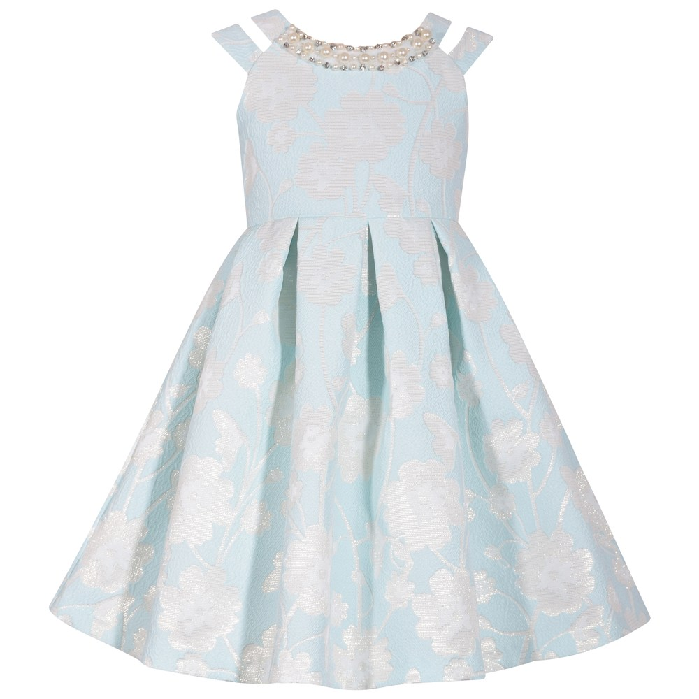4392fe6c799 Girls 7-16 Bonnie Jean Pleated Floral Brocade Dress in 2019 ...
