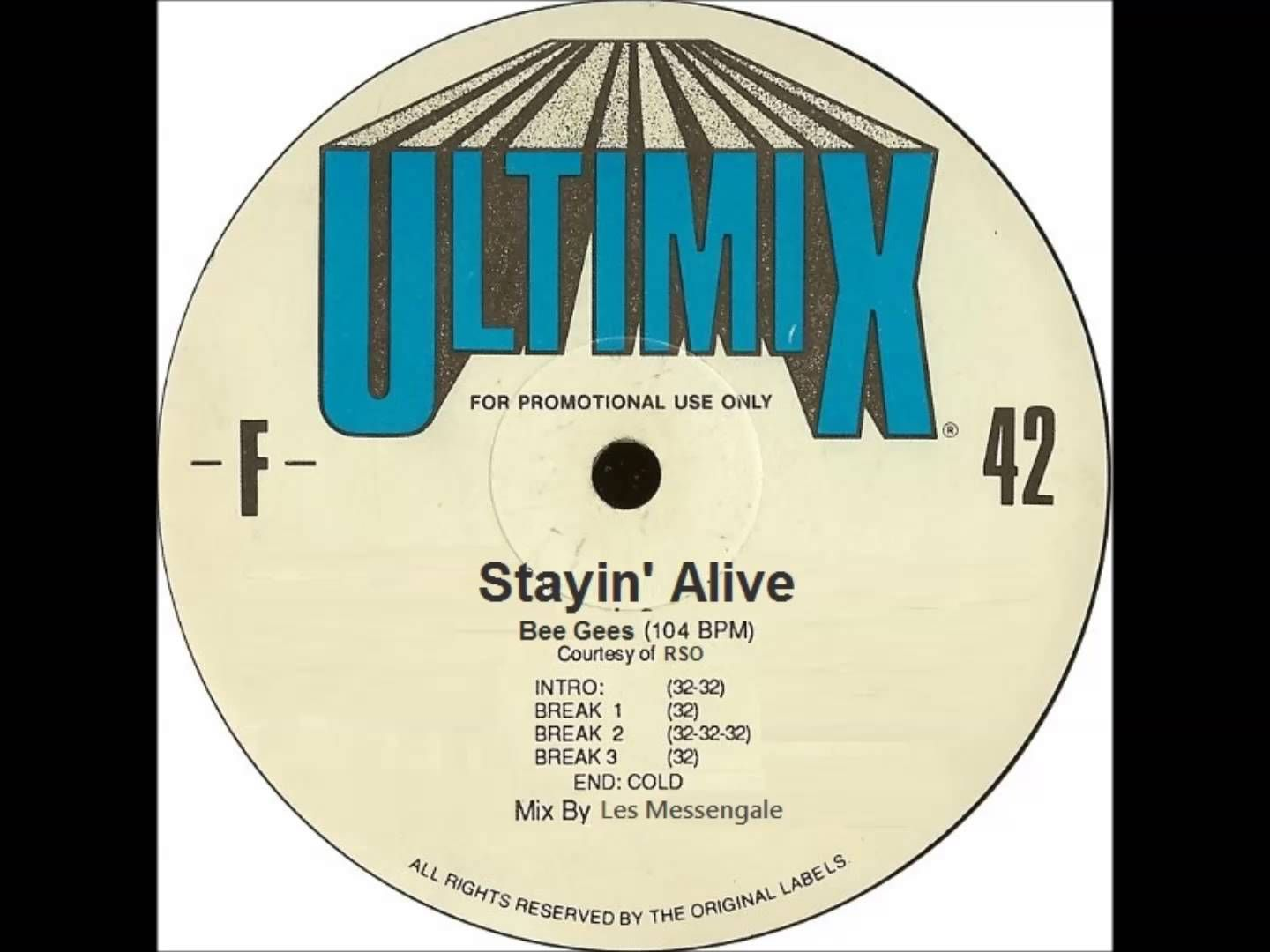 Bee Gees Stayin' Alive (Ultimix)
