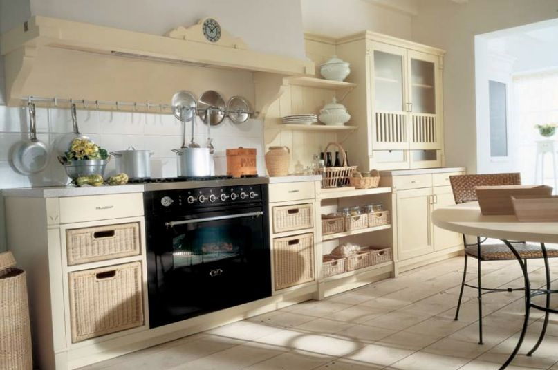 country kitchen ideas Country Kitchens with Italian Style