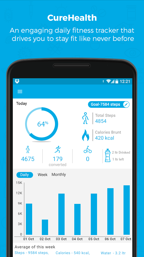 track daily health activity daily health notes and electronic health records app link