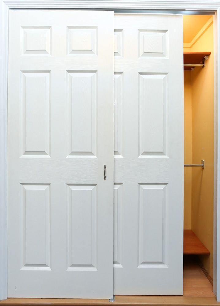48 Sliding Wood Closet Doors Single Door 2panel Bifold