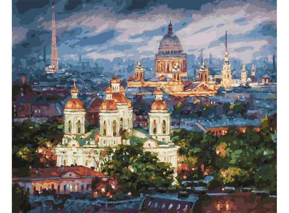 Картина по номерам «Все краски вечера. Санкт-Петербург» (с ...